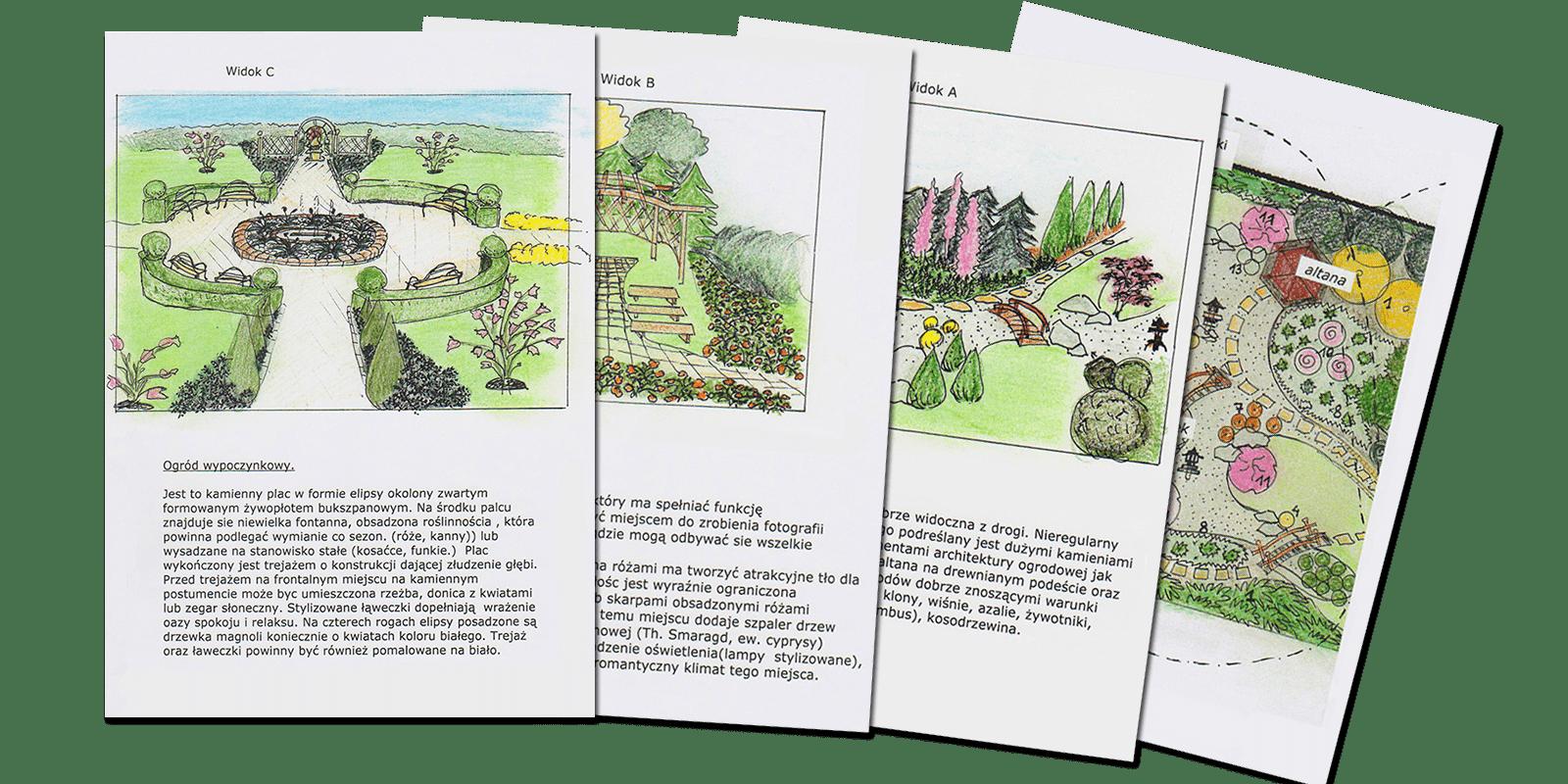 projekt ogrodu w Krakowie