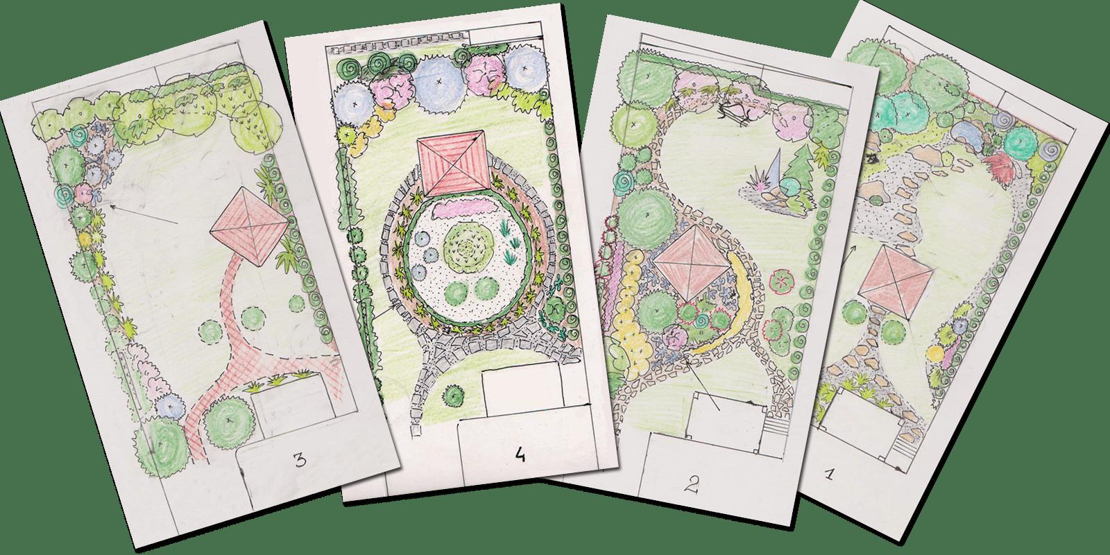 Projekty ogrodów Kraków